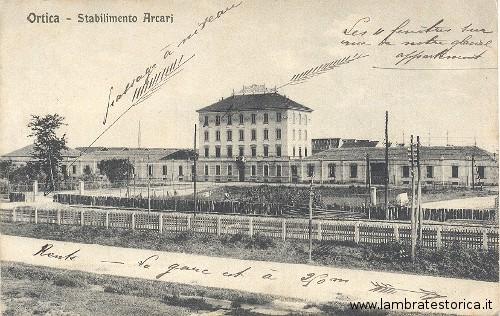 Ortica stabilimento Arcari