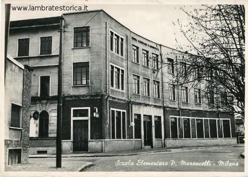 Milano - Scuole elementari P. Maroncelli